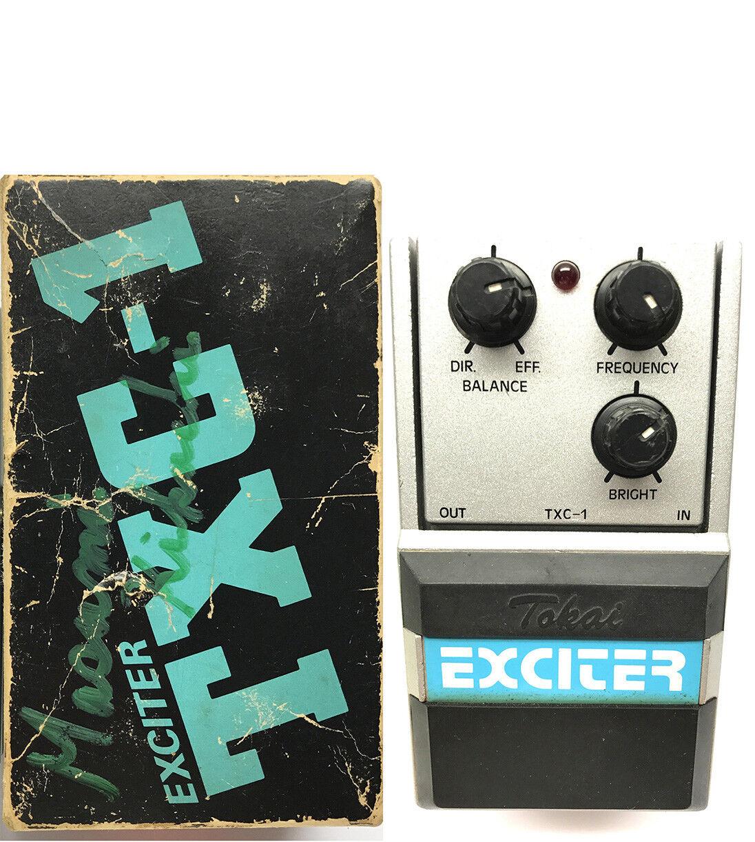 Tokai TXC-1, Exciter, Series One, MIJ, 1980's, Vintage Effect Pedal