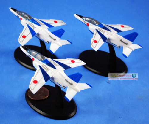 Japan JASDF Blue Impluse 2nd Generation Mitsubishi T-4 Jet Aircraft Fighter S63