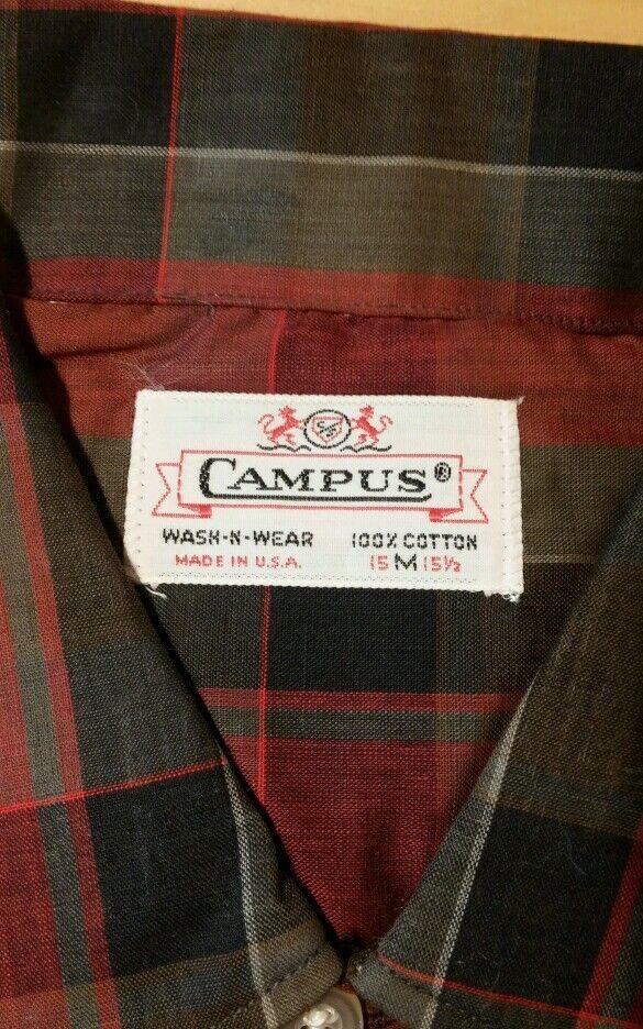 Rare Deadstock Vintage NOS 40's 50'S CAMPUS COTTO… - image 6
