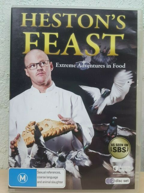 Heston's Feast extreme adventures in food (DVD, 2010, 2-Disc Set)