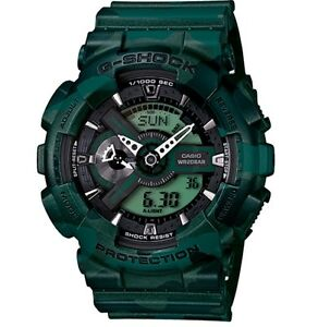 Casio-G-Shock-GA110CM-3A-Camo-Series-Anadigi-Gshock-Watch-Green-COD-PayPal