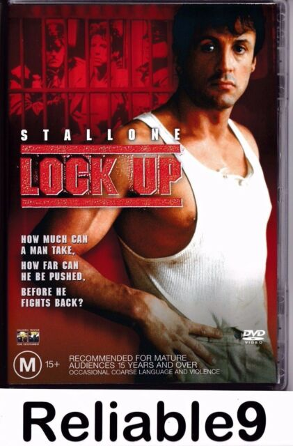 Stallone Sylvester- Lock up DVD+Special features R4 New not sealed-1990/2003 AUS