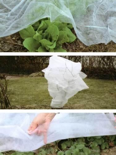 Gartenvlies Wintervlies Schutzvies Vlies Topfpflanzen Winter Kübel Frost 5x1,5m