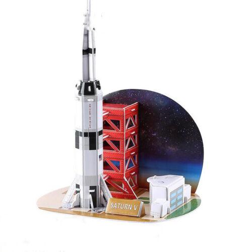 Children 3D Craft Paper Model Architecture DIY Educational Puzzles Toys L