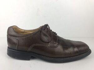 289e1552df Belvedere Bay Bridge Men's Sz 10 Brown Leather Split Toe Oxford ...