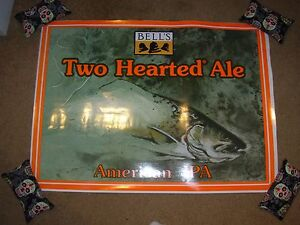 bells two hearted huge 29 cling sticker wall poster craft beer