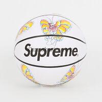 Supreme Ss16 Spalding Gonz Butterfly Basketball Box Tee Logo Mark Gonzales White