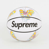 Supreme Ss16 Spalding Gonz Butterfly Basketball Box Tee Logo Mark Gonzales White