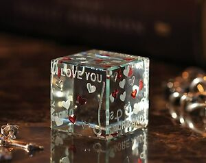 Spaceform Love Cube Christmas Romantic Love Gift Ideas For Her Him