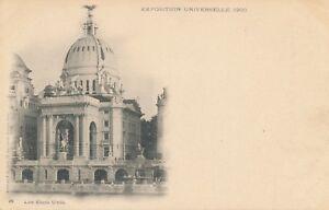 1900-Paris-Exposition-Les-Etats-Unis-United-States-udb