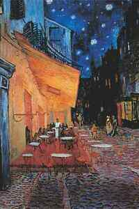 Vincent Van Gogh The Cafe Terrace at Night Mini Puzzle 1000pcs Jigsaw TOMAX Toy