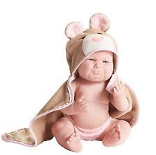 "JC Toys Pouty La Newborn Moments 17"" Vinyl Real Girl Berenguer Baby Doll #18006"