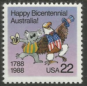 USA-1988-AUSTRALIAN-BI-CENTENARY-1-Value-MNH