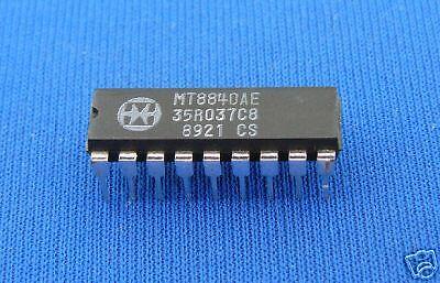 MT8840AE DIP18 MITEL 2pcs