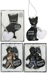 Bridal Lucky Black Cat Or Good Luck Chimney Sweep Bride