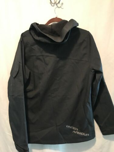 Armour M Black Zip capuchon Ts8 Coldgear Full Under Mens Edw40qE