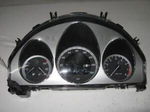 Details about 2010 Mercedes-Benz C300 Speedometer meter instrument gauge  cluster odometer