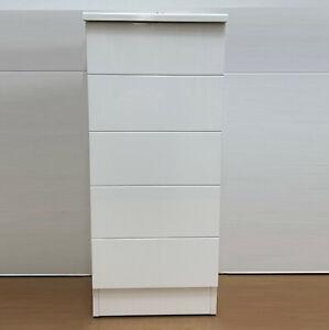 Détails sur CG salle de bains moderne Blanc Compact Noir Brillant Slim  Armoire de rangement Armoire Unité- afficher le titre d\'origine