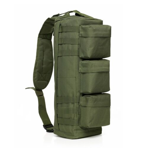 Outdoor Military Tactical Sling Backpack Army Molle Camping Hiking Shoulder Bag