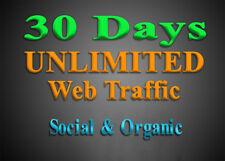 Organic Amp Social Web Traffic