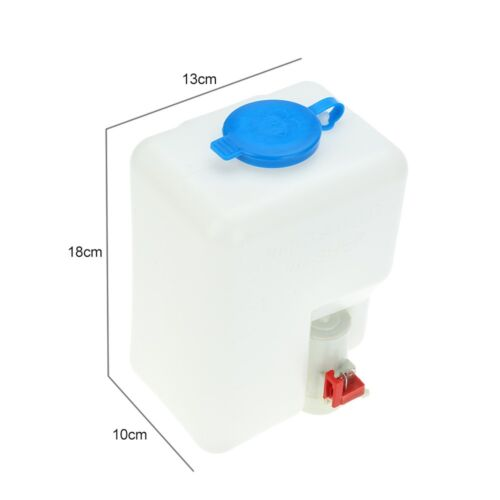 Universal Windscreen Washer Bottle Kit Jet Switch New 12V Ideal Pump