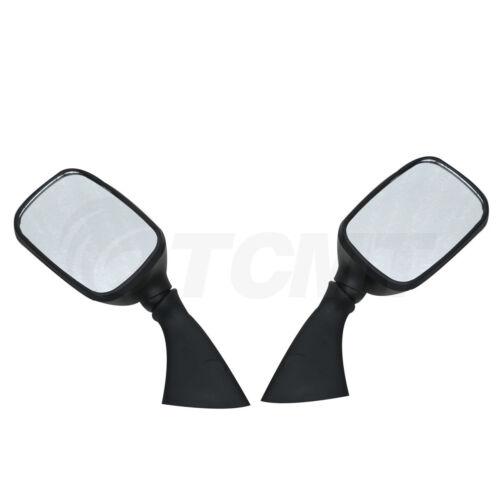 Black Side Rear View Mirrors For SUZUKI GSXR 600 GSXR 750 01-03 GSX1300R 99-11