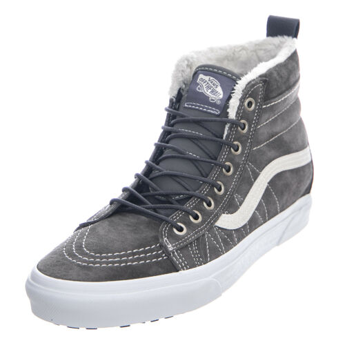 VANS sk8-hi MTE - Pewter/Asphalt - Shoes High Man Grey Grey Grey