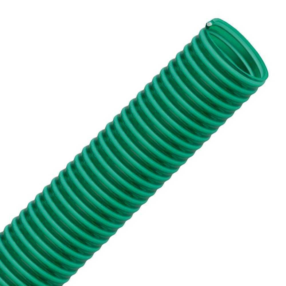 PVC Saugschlauch Spiralschlauch Teich Pumpen Wasser Förder Druck Schlauch Grün