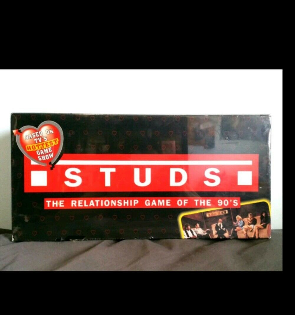 Studs The Relationship Game in the 90's 1992 Board Game Sealed