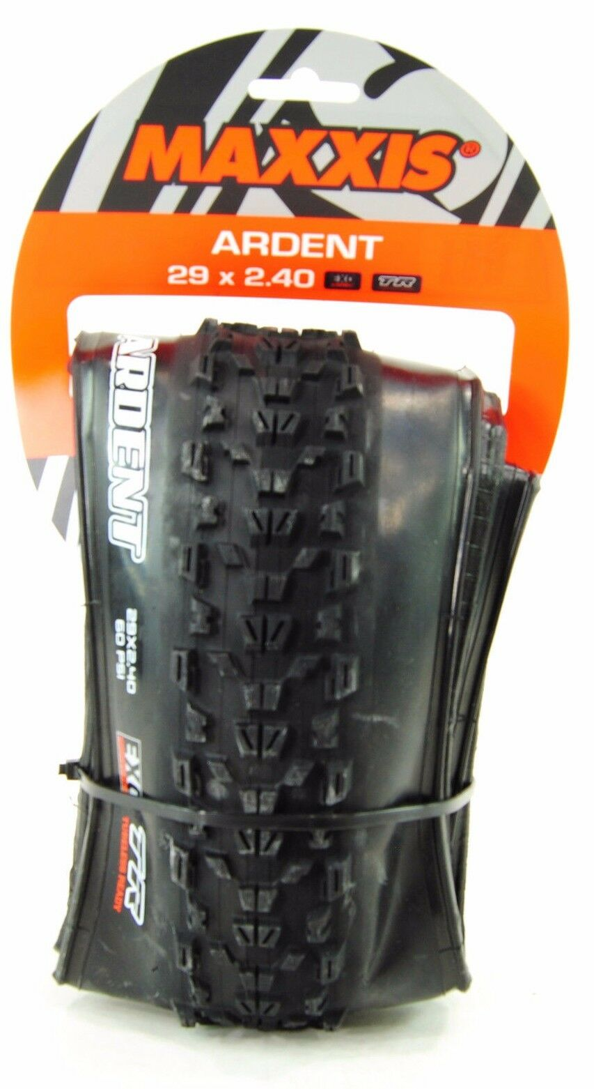 Maxxis Ardent Mountain Bike Tire 29 x  2.40 Dual Compound Tubeless EXO Predection  simple and generous design