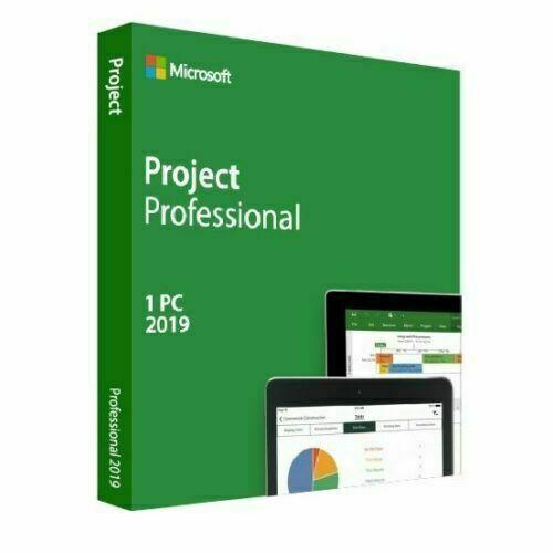 Microsoft Project Standard 2019 Cheap License