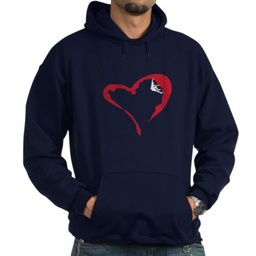 Heart Climber Pullover Hoodie CafePress