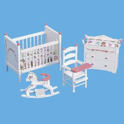 Miniature Antique  Nursery set in white by Butlers