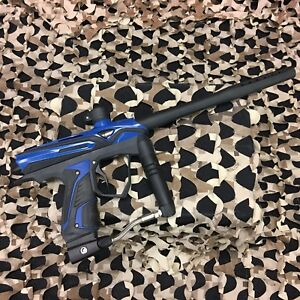 USED-GoG-eXTCy-Paintball-Gun-Marker-Black-Blue