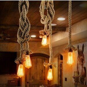 nautical rope lamp bedroom image is loading industrialpendantlampretrovintageedisonnauticalrope industrial pendant lamp retro vintage edison nautical rope ceiling