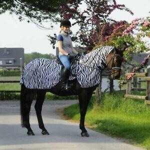 Fliegenausreitdecke-Meran-zebra-abnehmbares-Halsteil-Fliegendecke-Daselfo-TOP