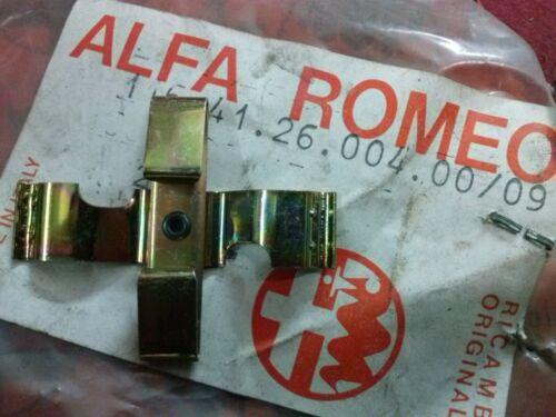 MOLLA FERMO PASTIGLIE PINZE ALFA ALFETTA GIULIETTA 75 90 NUOVO ORIGINALE 116412