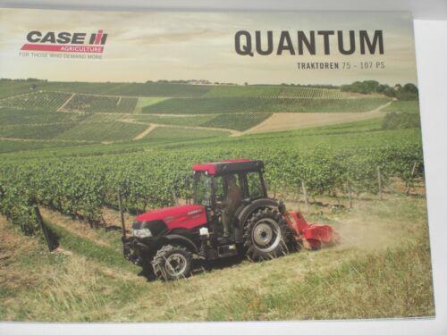 CASE IH QUANTUM Traktoren Prospekt von 11//2018 CASE 43
