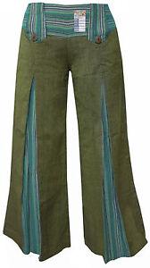 La imagen se está cargando Verde-Holgado-de-Campana-Vintage-Retro-Algodon- Mujer- ecf2ddf41fa9