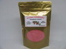 CRANBERRY JUICE POWDER 8oz (1/2 lb )Organic All natural NON GMO Free Shipping