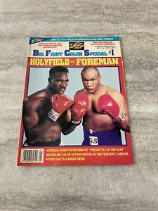 The-Ring-Boxing-Magazine-Big-Fight-Color-Special-1-Holyfield-vs-Foreman