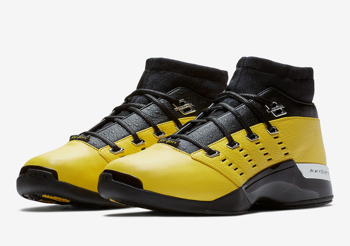 Nike 11 Air Jordan 17 Retro Low SOLEFLY SZ 11 Nike Reverse Lightning Yellow AJ7321-003 c3bce4