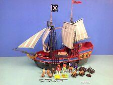 (K129) playmobil Grand bateau pirates ref 3940