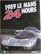 LE MANS 24 HOURS 1989 YEARBOOK / ANNUAL MOITY TEISSEDRE BOOK ISBN:0951284029