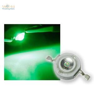 10-Highpower-LEDs-1W-Gruen-1-w-gruene-High-power-SMD-LED-1-Watt-350mA-green-verte