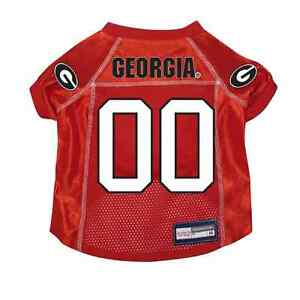 NEW-GEORGIA-BULLDOGS-PET-DOG-PREMIUM-JERSEY-w-NAME-TAG-ALL-SIZES-LICENSED