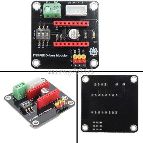 42 CH axes Pas à Pas Moteur Driver Expansion Board DRV8825//A4988 pour UNO R3 imprimante 3D