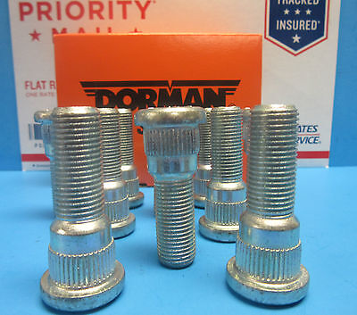 10 Wheel Lug Stud Replace OEM # 6104811 Dodge Ford Lincoln Mercury