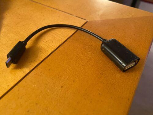 Micro USB Macho a USB hembra de Host OTG Cable Adaptador Para Samsung Galaxy Android