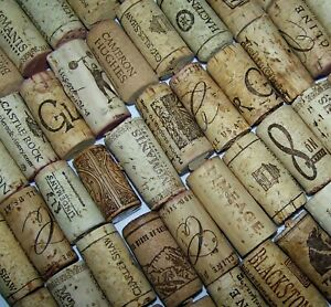 Natural-Used-Wine-Corks-Lot-of-5-10-20-30-50-100-Variety-Recycle-Upcycle-Wedding
